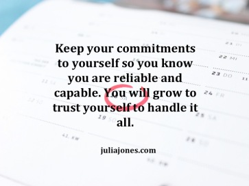 You can handle it all. Learn to trust yourself.