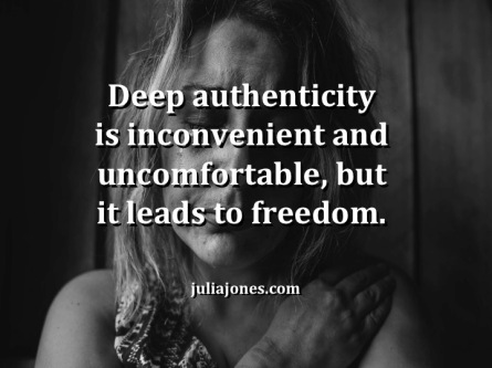 Deep authenticity